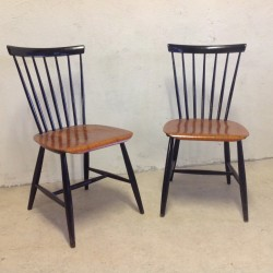 Black Plywood Rex Chair By Niko Kralj Tasteful Objects