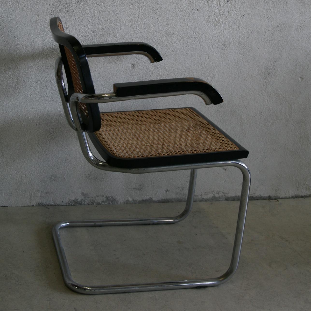 cesca chair by marcel breuer tasteful objects toinc. Black Bedroom Furniture Sets. Home Design Ideas
